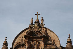 cuzco Περού καθεδρικών ναών Στοκ Εικόνες