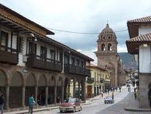 Cuzco. Imagem de Stock