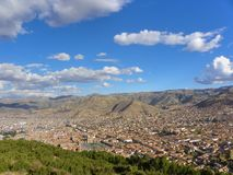 Cuzco - the ancient capital of Peru. royalty free stock photos