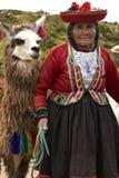 Cuzco au Pérou Photos stock