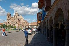 Cuzco - a capital anterior do império 8 do Inca fotografia de stock royalty free
