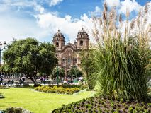 Cuzco, the capital city of the Incas, Peru Stock Images