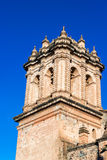 Cuzco Cathedral Spire Royalty Free Stock Photos