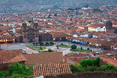 Cuzco evening Royalty Free Stock Photography