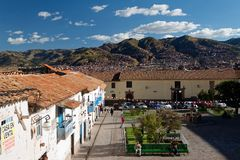 Cuzco - het vroegere kapitaal van Inca-imperium 13 stock foto's