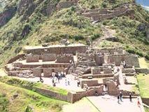cuzco ollataytambo秘鲁 免版税库存图片