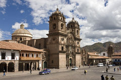 Cuzco in Peru Royalty Free Stock Images