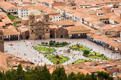 Cuzco, Peru. Plaza de Armas, Cuzco, Peru royalty free stock photos