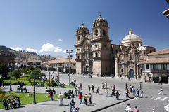 Cuzco, peru Royalty Free Stock Photo