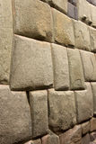 Cuzco - Peru - Hatumrumiyoc Inca Wall Royalty Free Stock Images