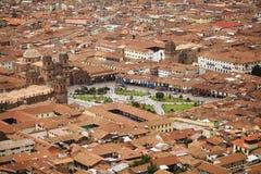Cuzco Plaza Στοκ Φωτογραφίες