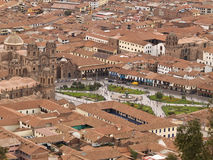 Cuzco, Plaza de Armas Stock Photos