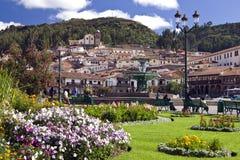 Cuzco - Plaza de Armas - Perú Fotografía de archivo