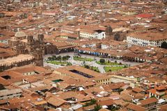 Cuzco Plaza Stock Photos