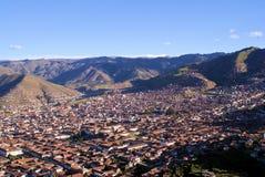 cuzco sacsayhuaman的秘鲁 图库摄影