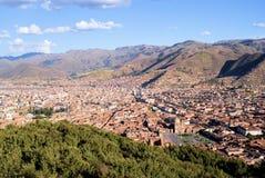 cuzco sacsayhuaman peru Royaltyfri Fotografi