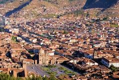 cuzco sacsayhuaman peru Royaltyfri Bild