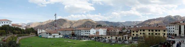 Cuzco stad Arkivfoton