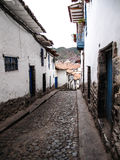 Cuzco street Royalty Free Stock Image