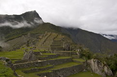 cuzcomachuperu picchu Arkivbilder