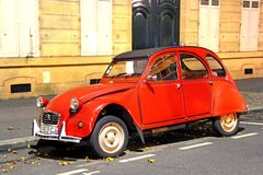 2cv Citroen Obrazy Royalty Free