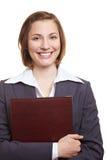 Cv della holding del candidato di job Fotografia Stock Libera da Diritti