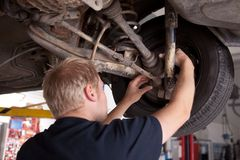 CV Joint Inspection Stock Photography