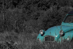 2CV on a meadow Royalty Free Stock Photos