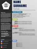 Cv /Resume Stock Photos