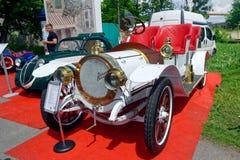 20CV uitstekende auto delaunay-Belleville - Voorraadbeeld Stock Foto's
