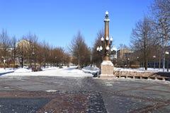 Cvetnoy Boulevard park in Moscow Stock Photo