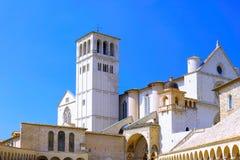 cview Италия umbria города assisi стоковое фото rf