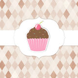 CVintageCupcakesPinkLabels-10-M [Converted] Stock Images