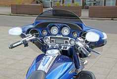 Cvo 1800 de tricycle de Harley davidson Photos stock