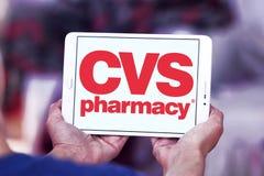 Cvs药房商标 免版税库存照片