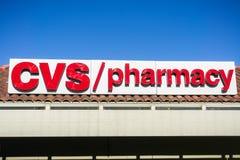 CVS / pharmacy logo royalty free stock photo