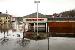 CVS Pharmacy underwater Royalty Free Stock Photography