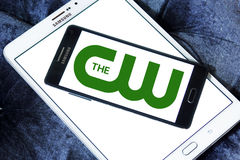 The cw network logo Stock Images