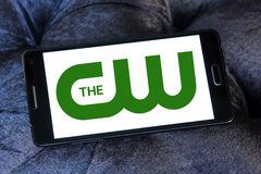 The cw network logo Royalty Free Stock Images