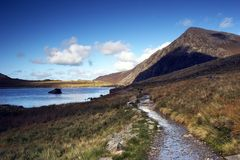 Cwm Idwal Stock Afbeelding