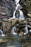 Cwmorthin vattenfall Arkivfoto