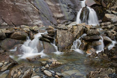 Cwmorthin vattenfall 2 Royaltyfria Bilder