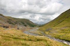 Cwmystwyth hills in Ceredigion Wales. Royalty Free Stock Photo