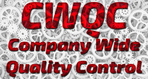 CWQC. Company Wide Quality Control Royalty Free Stock Photos
