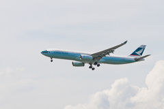 CX CATHAY PACIFIC стоковые фото