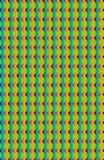 Cyan, желтые, и оранжевые кривые на вертикальном доступе делают эту картину бесплатная иллюстрация