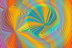 cyan линии желтый цвет Стоковое Фото