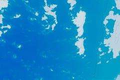 Белая, голубая и cyan текстура предпосылки Абстрактная карта с северным бечевником, морем, океаном, льдом, горами, облаками стоковые изображения rf