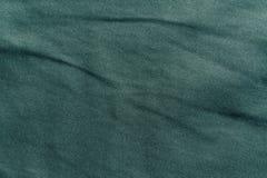 Cyan abstrakt textiltextur Royaltyfria Bilder