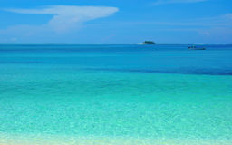 Cyan atol fotografia royalty free